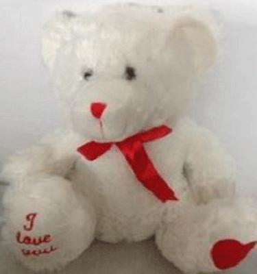 white love bear